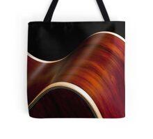 Ribbon Guitar Tote Bag