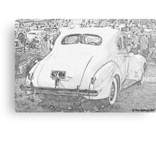 1940 Packard Coupe Metal Print