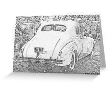 1940 Packard Coupe Greeting Card