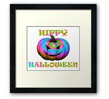 Hippy Halloween Framed Print