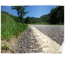 Country Road - North Carolina Poster