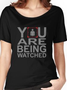 Person of Interest - You Are Being Watched Women's Relaxed Fit T-Shirt
