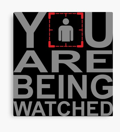 Person of Interest - You Are Being Watched Canvas Print