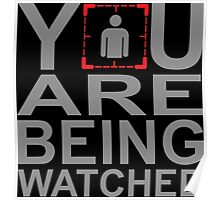 Person of Interest - You Are Being Watched Poster