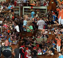 Young and old enjoy a Dutch tradition, in Frenchs Forest by MrJoop