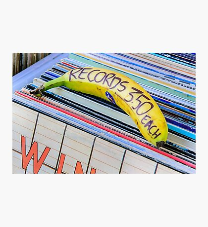 Cheap Records Photographic Print