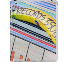Cheap Records iPad Case/Skin