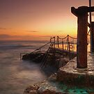 Bronte Baths by Mark  Lucey