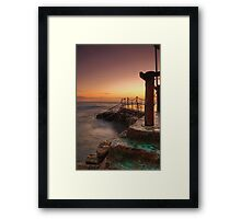 Bronte Baths Framed Print