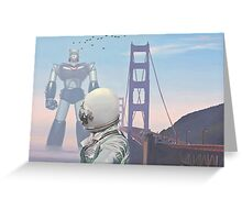 A Very Large Robot Greeting Card