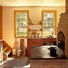 Kitchen - An 1840's Kitchen by Mike  Savad