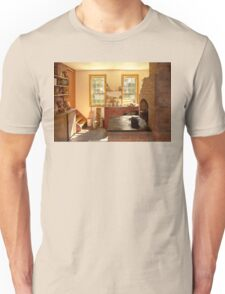 Kitchen - An 1840's Kitchen Unisex T-Shirt