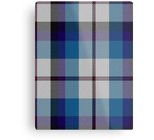 00388 Bradey Blue Dress Tartan Metal Print