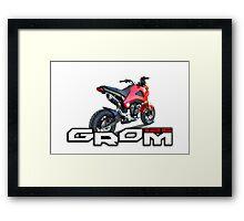 Honda Grom Framed Print