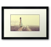 Just Walk Away... Framed Print