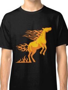 Flaming Horse Classic T-Shirt