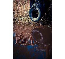 Lone Tire - Bradenton, Florida Photographic Print