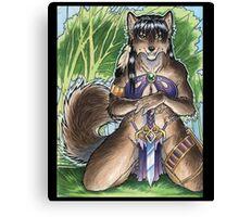 Forest Werewolf  Canvas Print