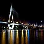 ANZAC Bridge, Sydney by David Mapletoft