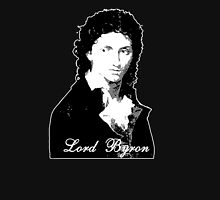 Lord Byron Romantic Womens Fitted T-Shirt