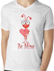 Be Mine Mens V-Neck T-Shirt