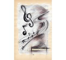snatches of music bursting forth Photographic Print