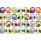 Colorful Owl pattern by Veronica Guzzardi