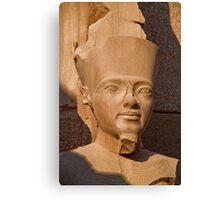 Egypt. Luxor. Karnak Temple. Pharaoh. Canvas Print