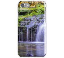 Black Devon Waterfalls iPhone Case/Skin