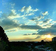 Guatemala City Sunset by Miguel Avila