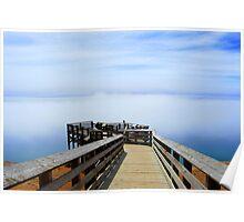 Lake Michigan Dunes Overlook Poster