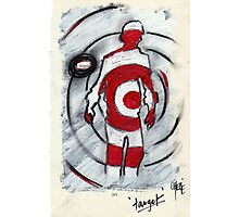 making oneself a target Photographic Print