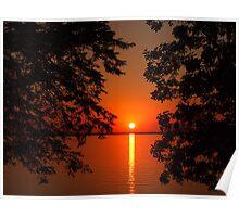 Rathbun Sunset Poster