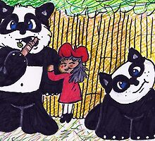 Tomato's Pet Pandas by Marcus Helbling