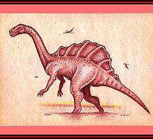 'Great Red Dragon' by Sean Phelan