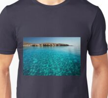 Bay in Rinia, Mykonos, Greece 3 Unisex T-Shirt