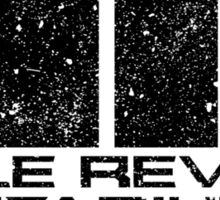 Belle Reve Sanitarium - Worn Sticker
