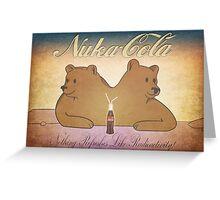 Nuka-Cola NCR Bears Greeting Card