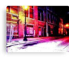 Washington Street Canvas Print