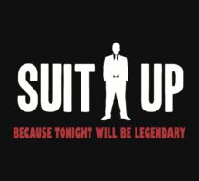 How I Met Your Mother Funny suit up barney stinson t-shirt by personalized