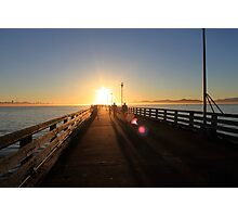 Berkeley sunset Photographic Print
