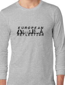 European Reflection Tour Silhouettes Long Sleeve T-Shirt