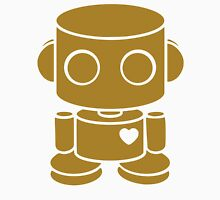 O'BOT: Love is Golden Womens Fitted T-Shirt
