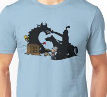 Boy and Box (Knight & Dragon) Unisex T-Shirt