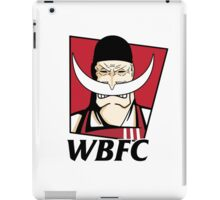 White Beard Fried Chicken iPad Case/Skin