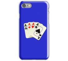 Deck of Lucky Ace Cards - Poker T-shirt Sticker iPhone Case/Skin