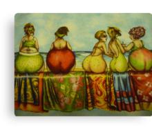 Fat Bottom Girls Canvas Print