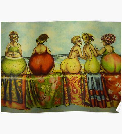 Fat Bottom Girls Poster