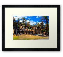 Burnt out #2 Framed Print