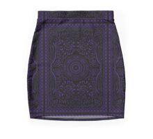 MAGIC TRIX -- witch aesthetic cardback boho Mini Skirt